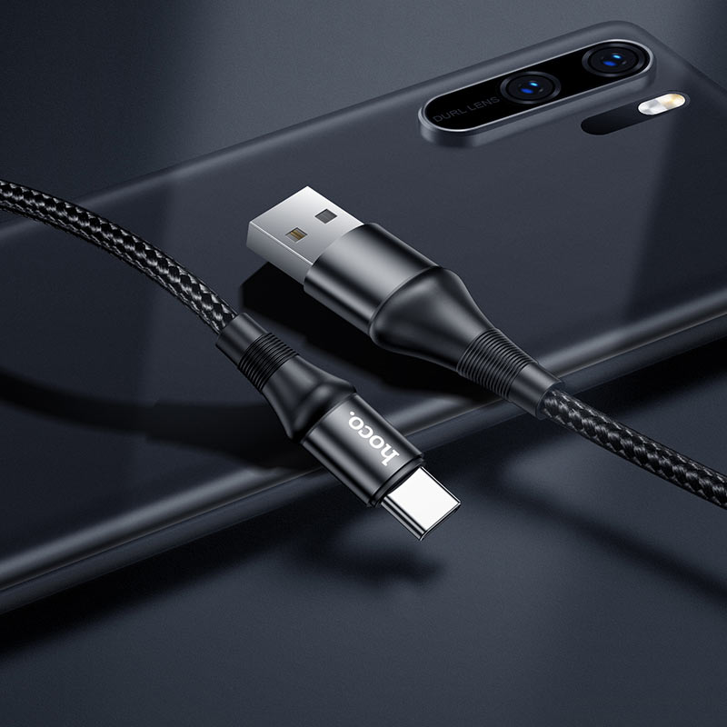 hoco x50 excellent charging data cable for type c overview