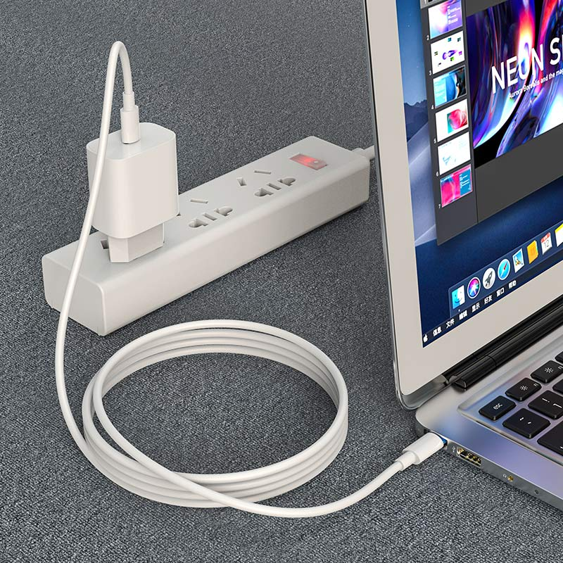 hoco x51 high power 100w charging data cable type c to type c notebook