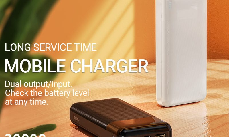 hoco news j72a easy travel power bank 20000mah banner en