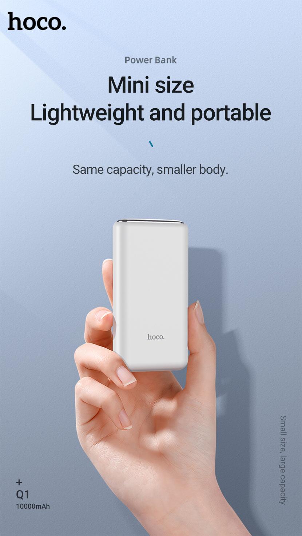 hoco news q1 kraft fully compatible power bank mini en