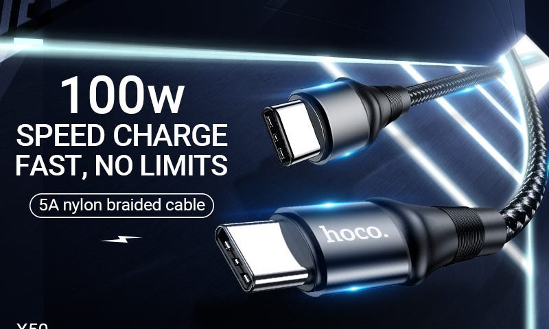 hoco news x50 exquisito charging data cable banner en