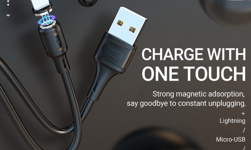 hoco news x52 sereno magnetic charging cable banner en
