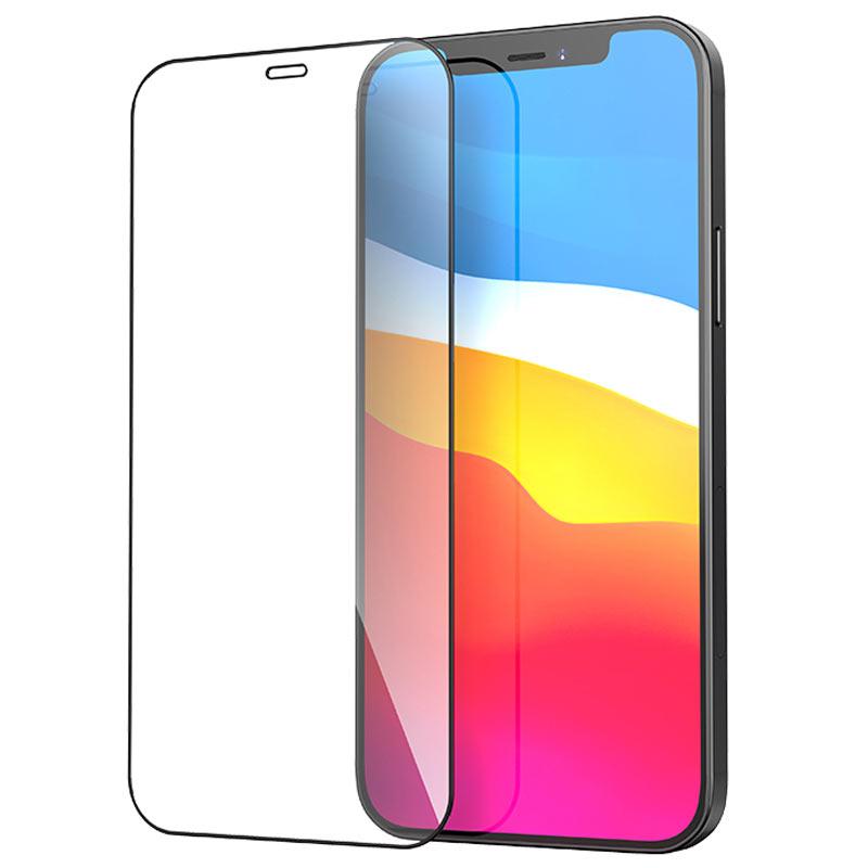 浩酷 a12 纳米3d全屏不碎边钢化膜 iphone 12 mini pro promax