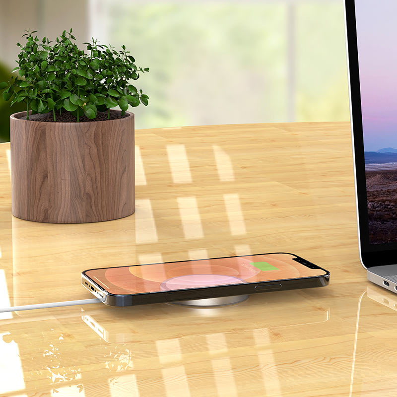 hoco cw30 original series magnetic wireless fast charger overview