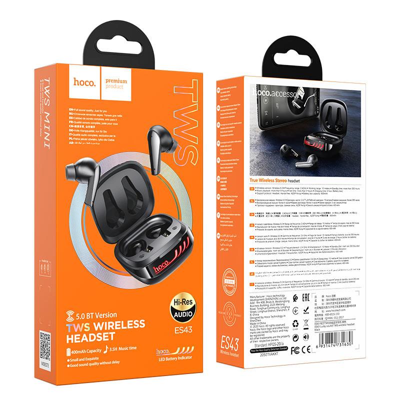 浩酷 es43 悦尔tws无线耳机 包装