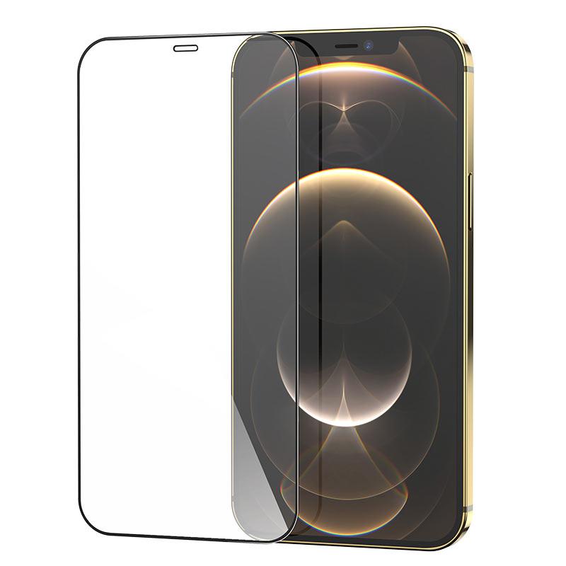 hoco защитное закаленное стекло hd g5 набор iphone 12 mini pro promax