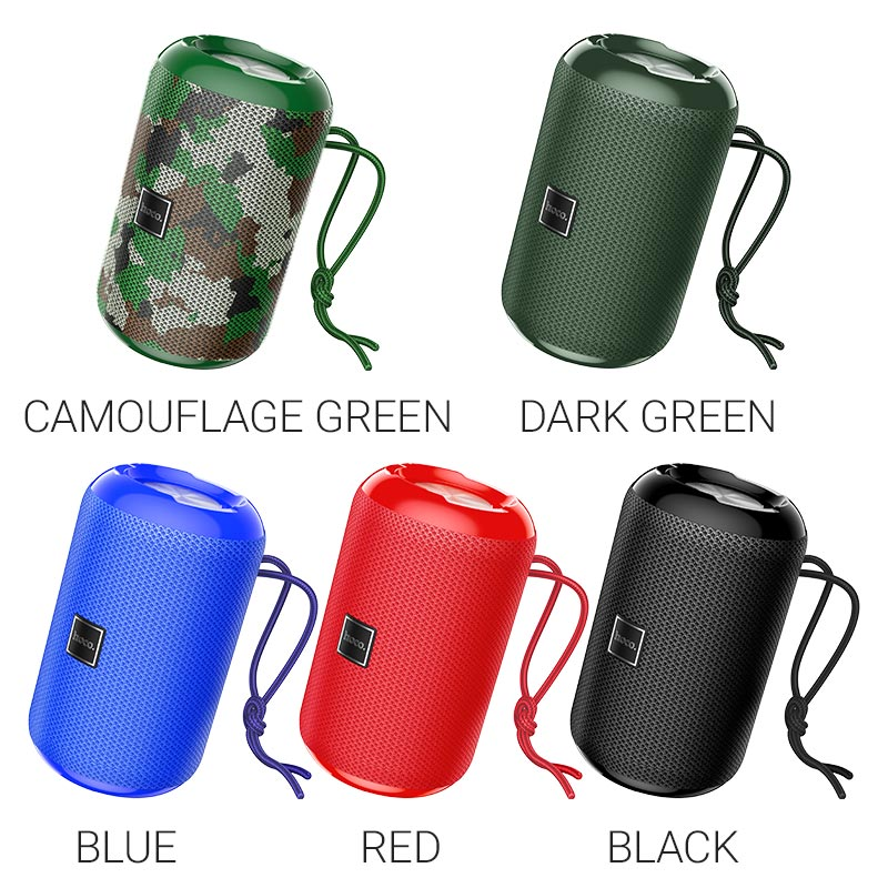 hoco hc1 trendy sound sports wireless speaker colors