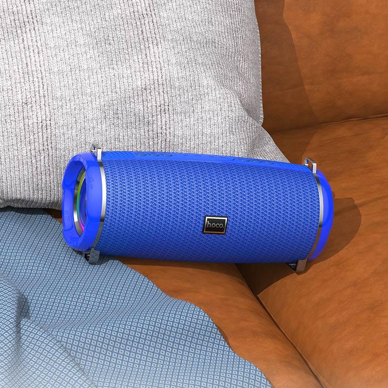 hoco hc2 xpress sports wireless speaker interior blue