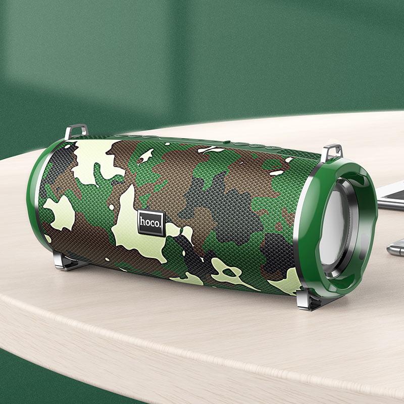 hoco hc2 xpress sports wireless speaker interior camouflage green