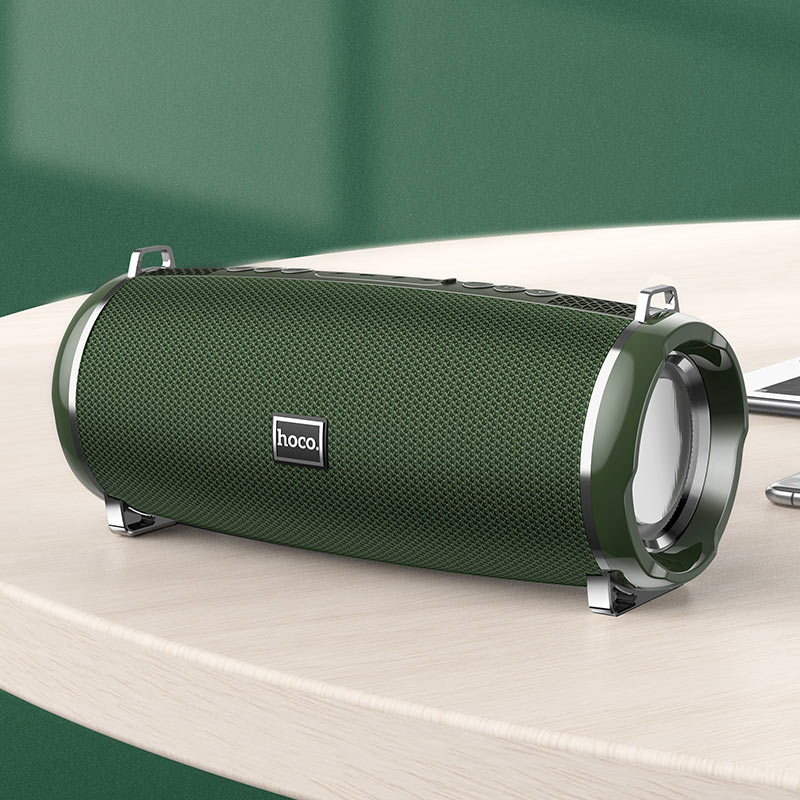 hoco hc2 xpress sports wireless speaker interior dark green