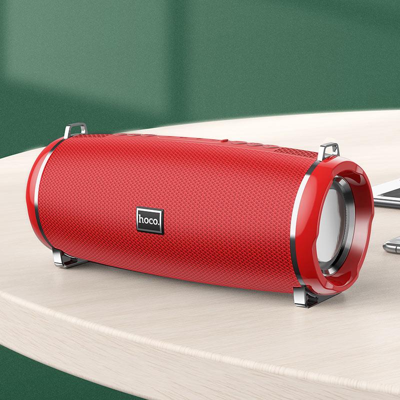 hoco hc2 xpress sports wireless speaker interior red