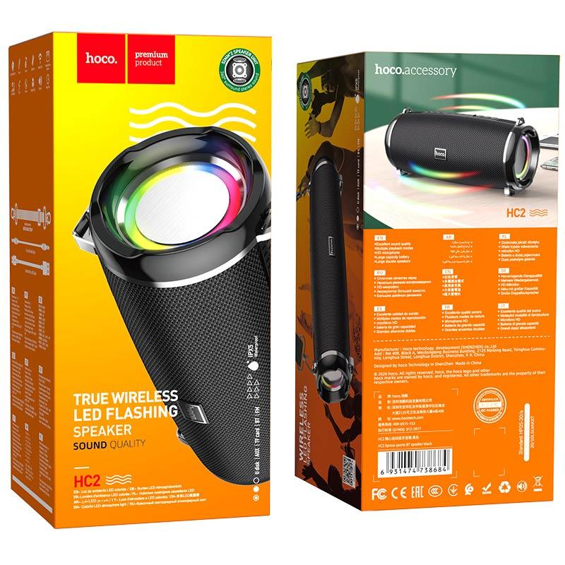 hoco hc2 xpress sports wireless speaker package black