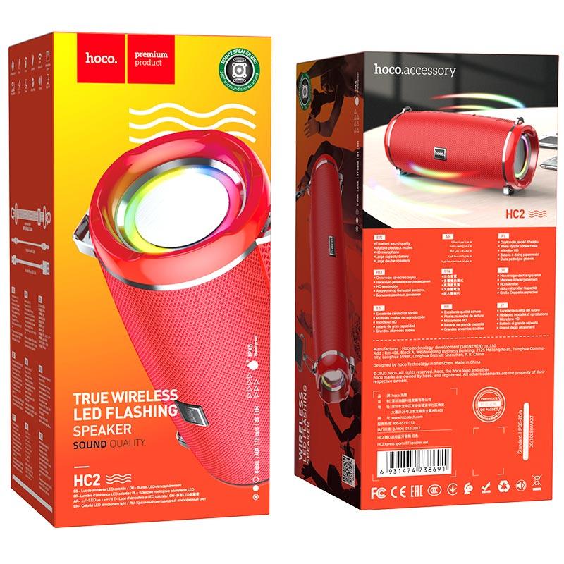hoco hc2 xpress sports wireless speaker package red