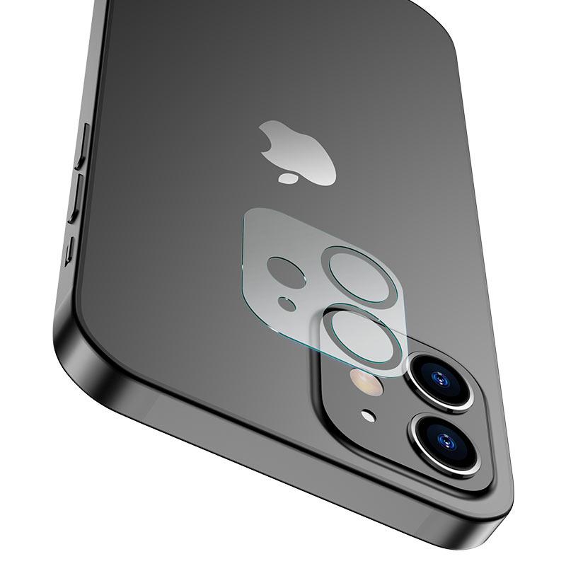hoco lens flexible tempered film v11 for iphone 12 12mini holes