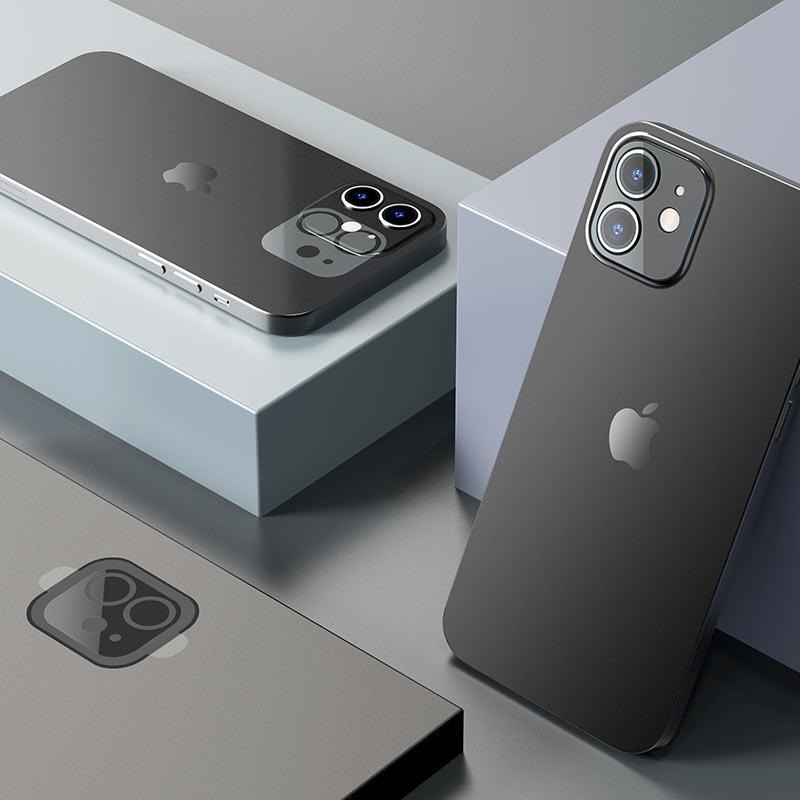 hoco lens flexible tempered film v11 for iphone 12 12mini interior