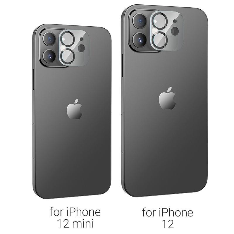 hoco lens flexible tempered film v11 for iphone 12 12mini models