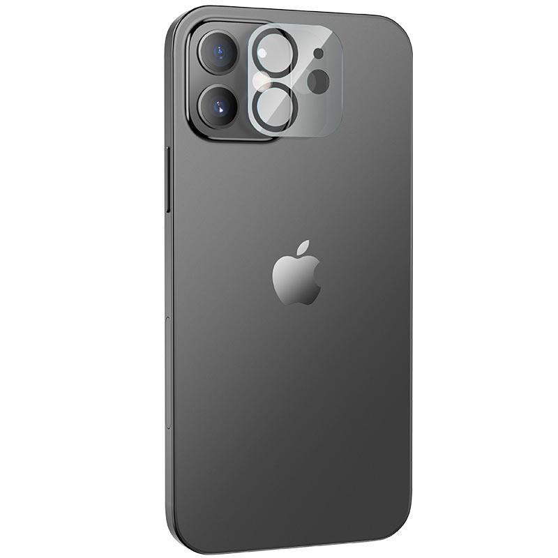 hoco lens flexible tempered film v11 for iphone 12 12mini openings
