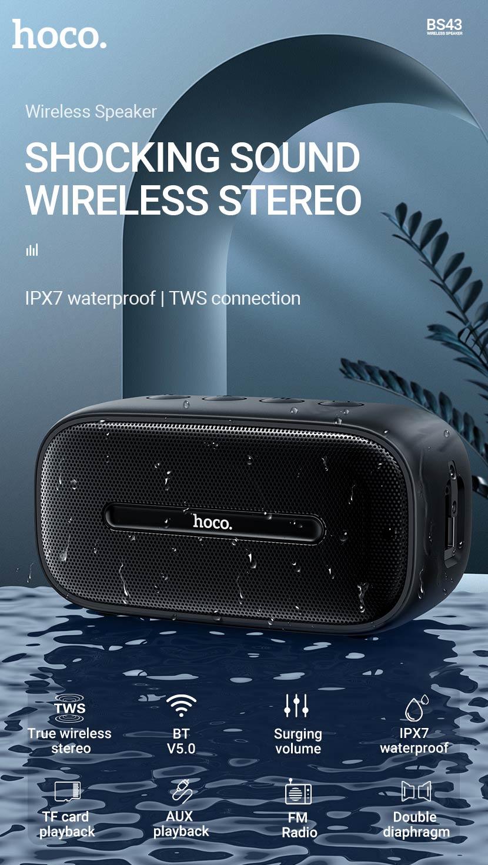 hoco news bs43 cool sound sports wireless speaker en