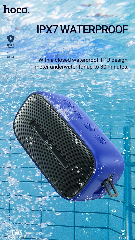hoco news bs43 cool sound sports wireless speaker waterproof en
