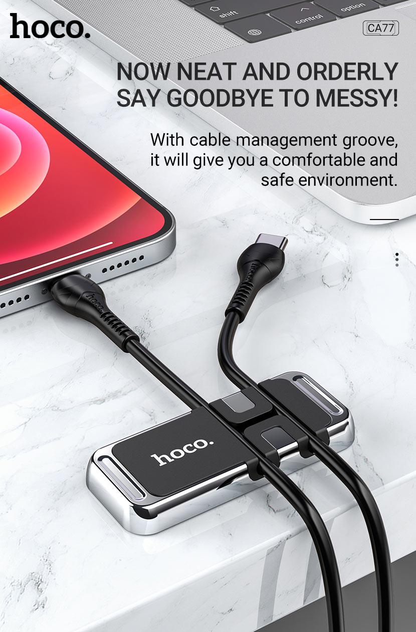 hoco news ca77 carry winder magnetic holder cable management en