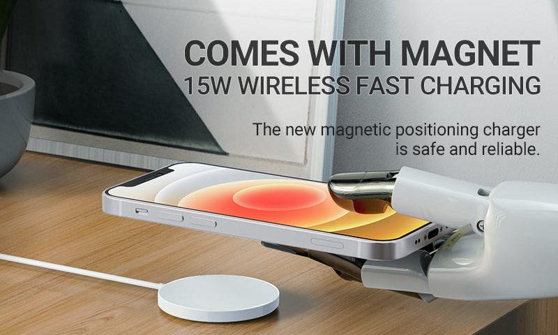 hoco news cw28 original series magnetic wireless fast charger banner en