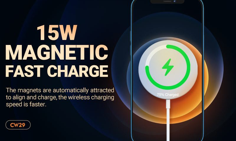hoco news cw29 magnetic wireless fast charger banner en