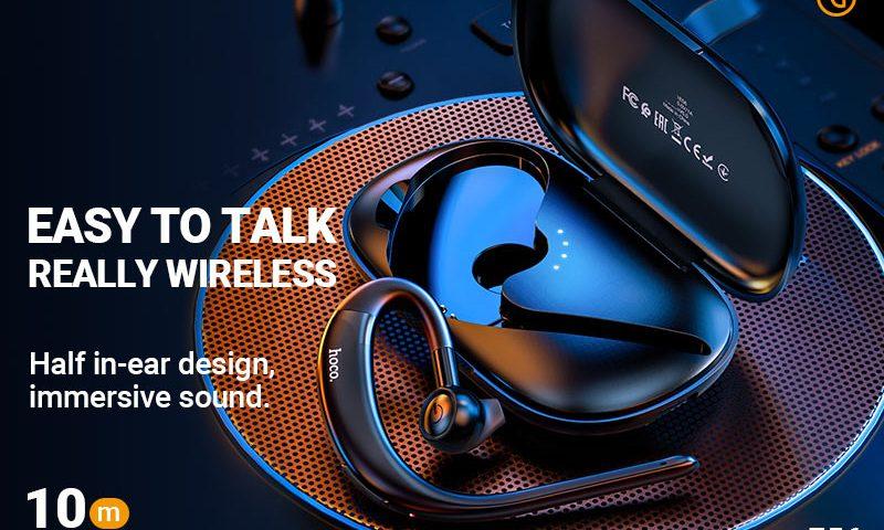 hoco news e56 shine business wireless headset banner en