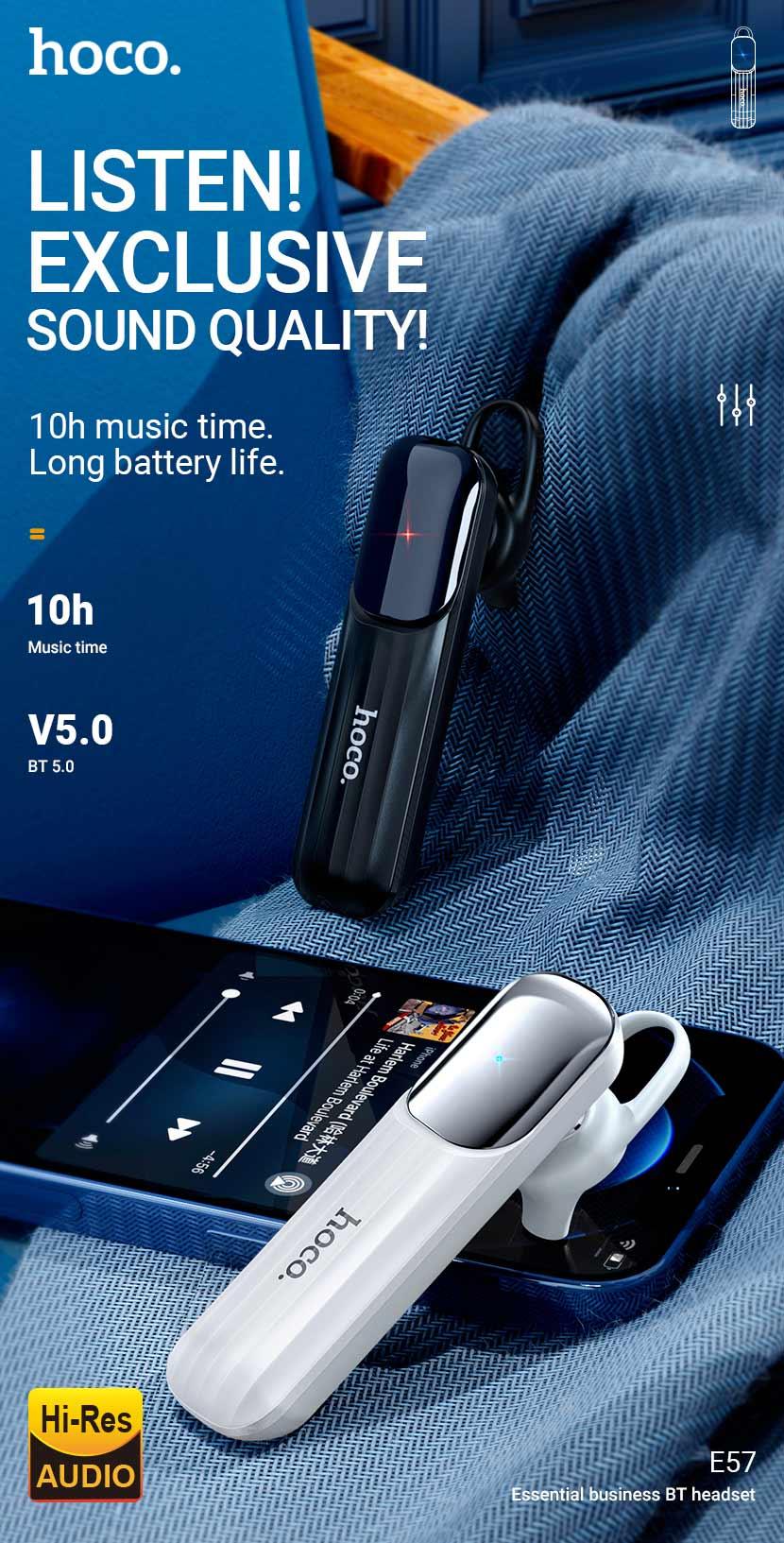 hoco news e57 essential business bt headset en