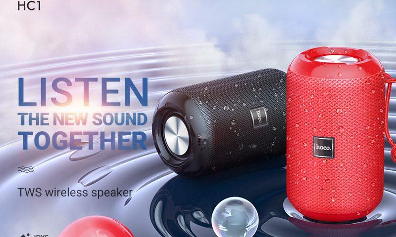 hoco news hc1 trendy sound sports wireless speaker banner en