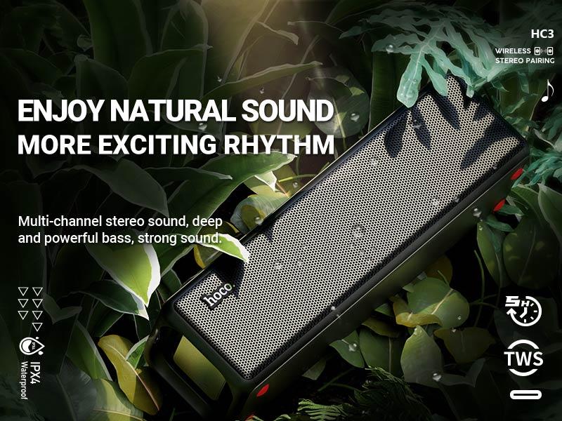 hoco news hc3 bounce sports wireless speaker banner en