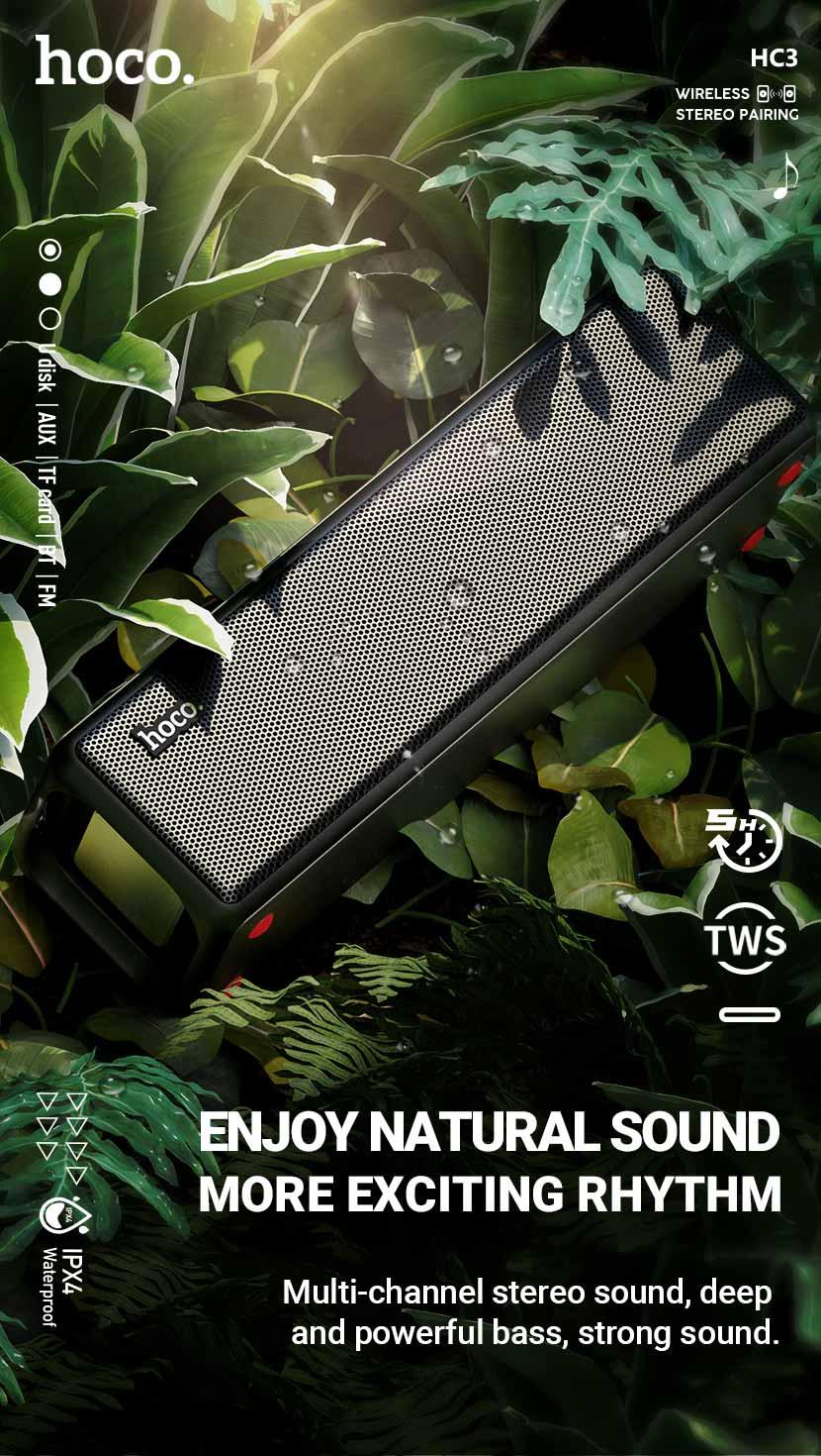 hoco news hc3 bounce sports wireless speaker en