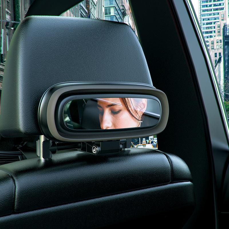 hoco ph35 lucky journey car rear pillow foldable storage box interior mirror