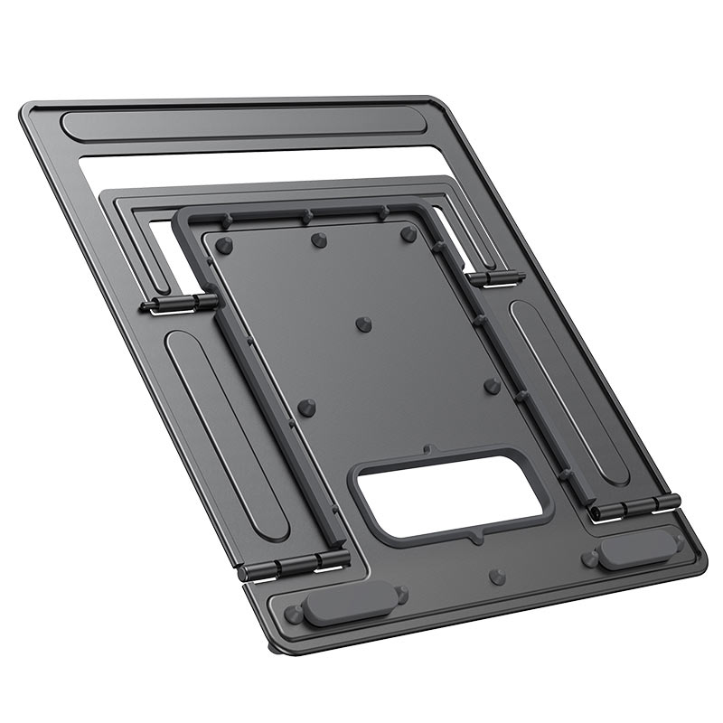 hoco ph37 excellent aluminum alloy folding laptop stand folded