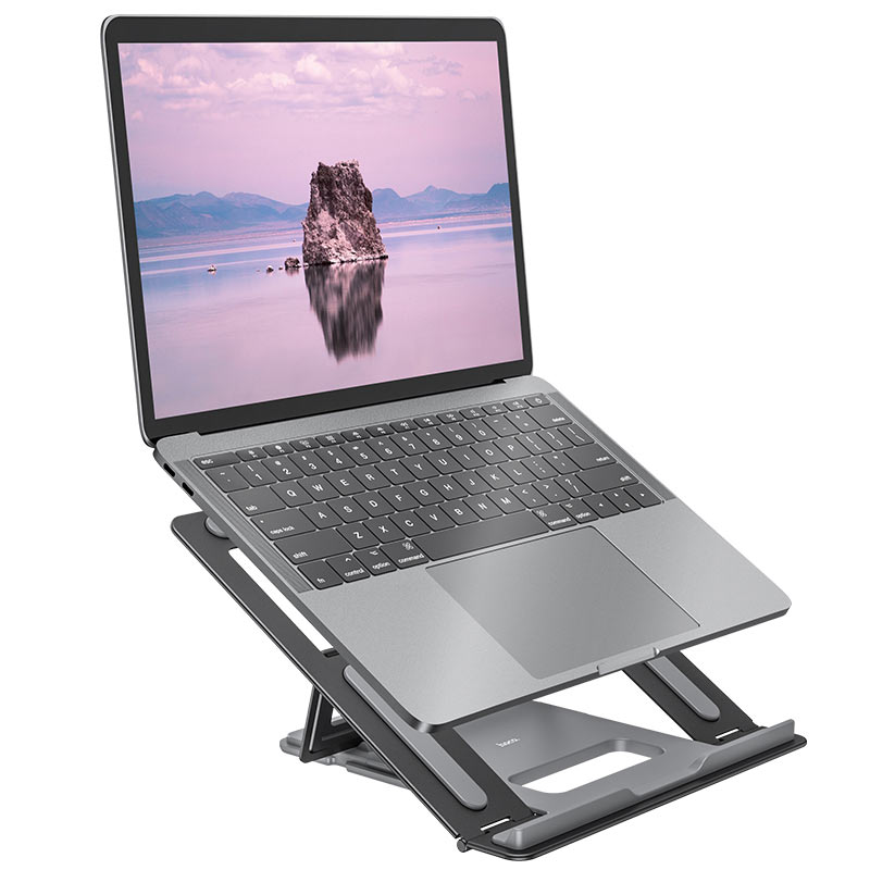 hoco ph37 excellent aluminum alloy folding laptop stand notebook