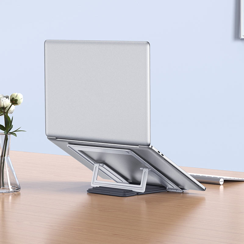 hoco ph37 excellent aluminum alloy folding laptop stand overview