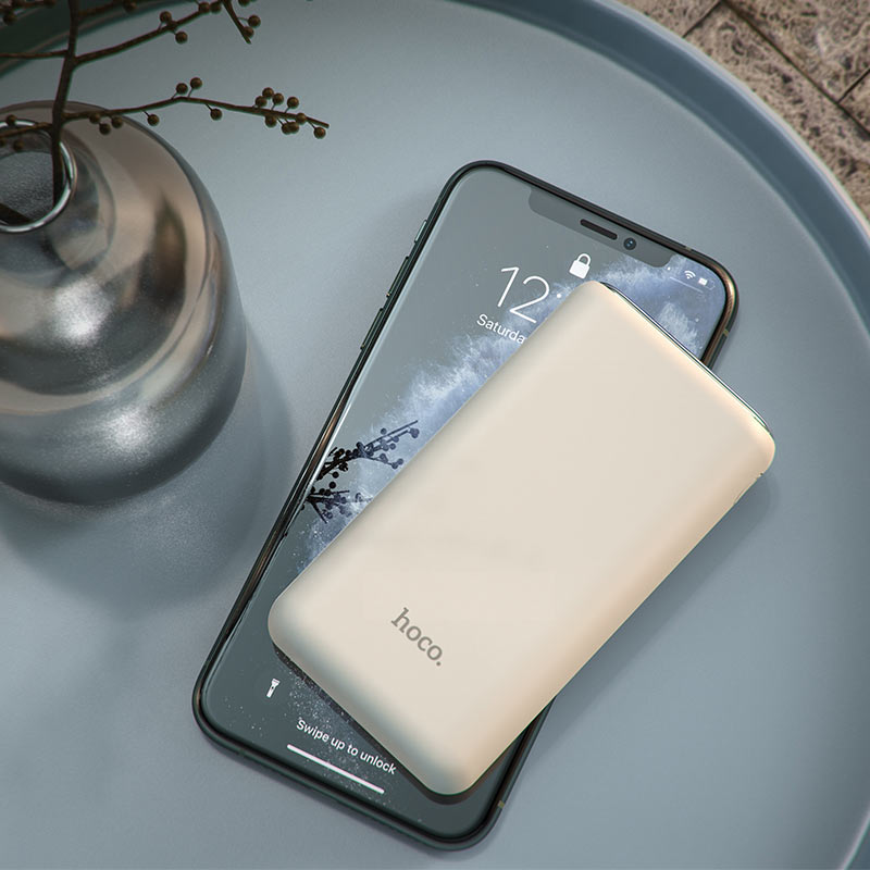 hoco q1a kraft fully compatible power bank 20000mah overview