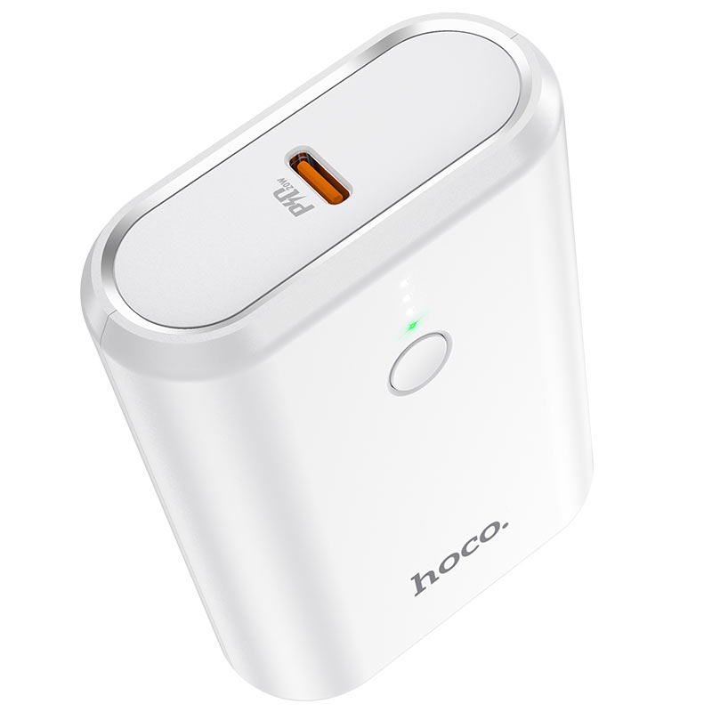 hoco q3 mayflower pd qc3 power bank 10000mah button
