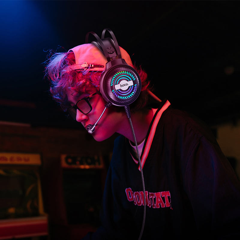 hoco w101 streamer gaming headphones gamer