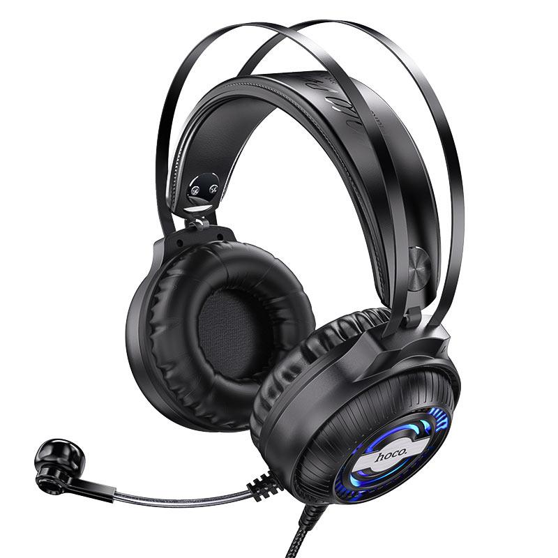 hoco w101 streamer gaming headphones headband