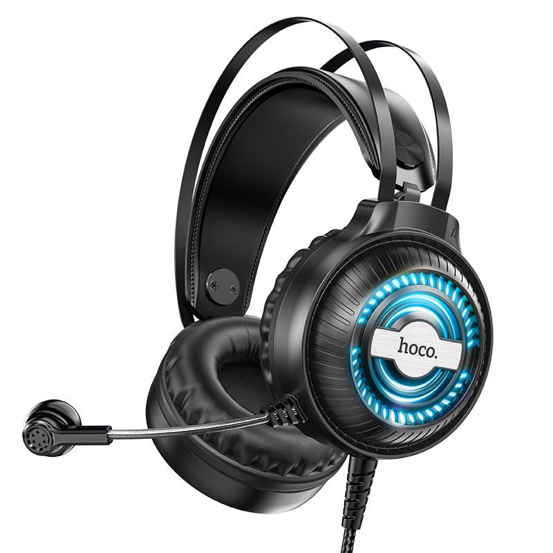 hoco w101 streamer gaming headphones microphone