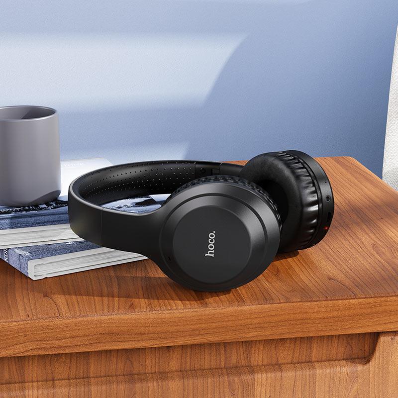 浩酷 w30 乐动无线头戴式耳机 概观