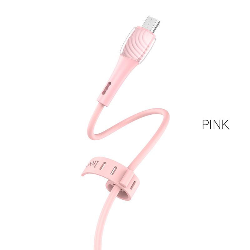 x49 micro usb розовый