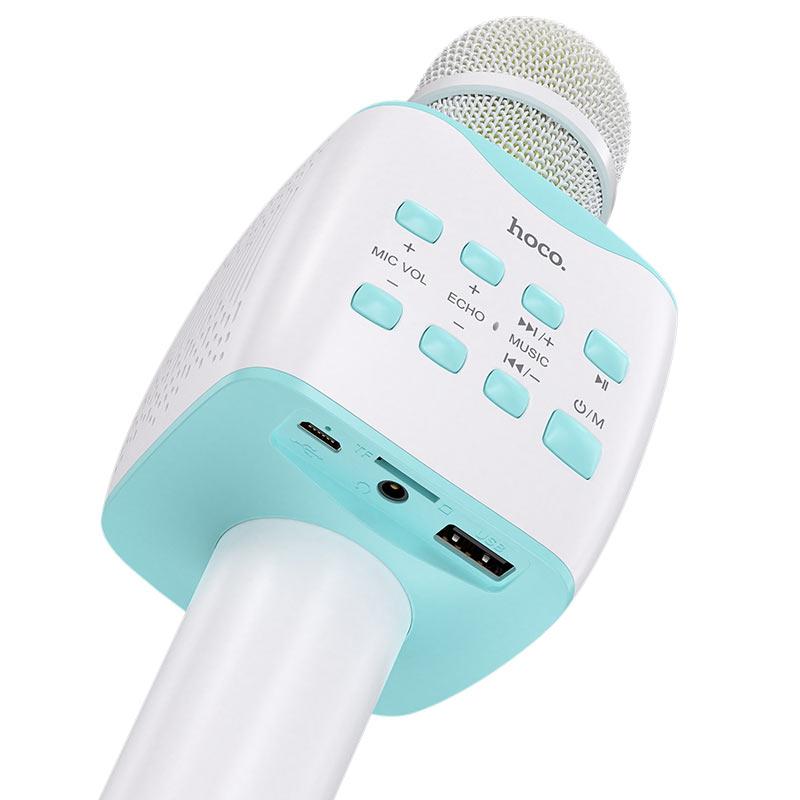 hoco bk5 cantando karaoke microphone ports