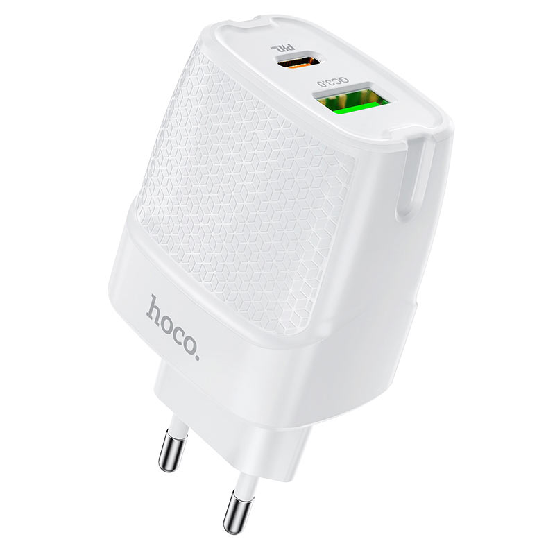 hoco c85a bright зарядное устройство pd20w qc3 eu порты