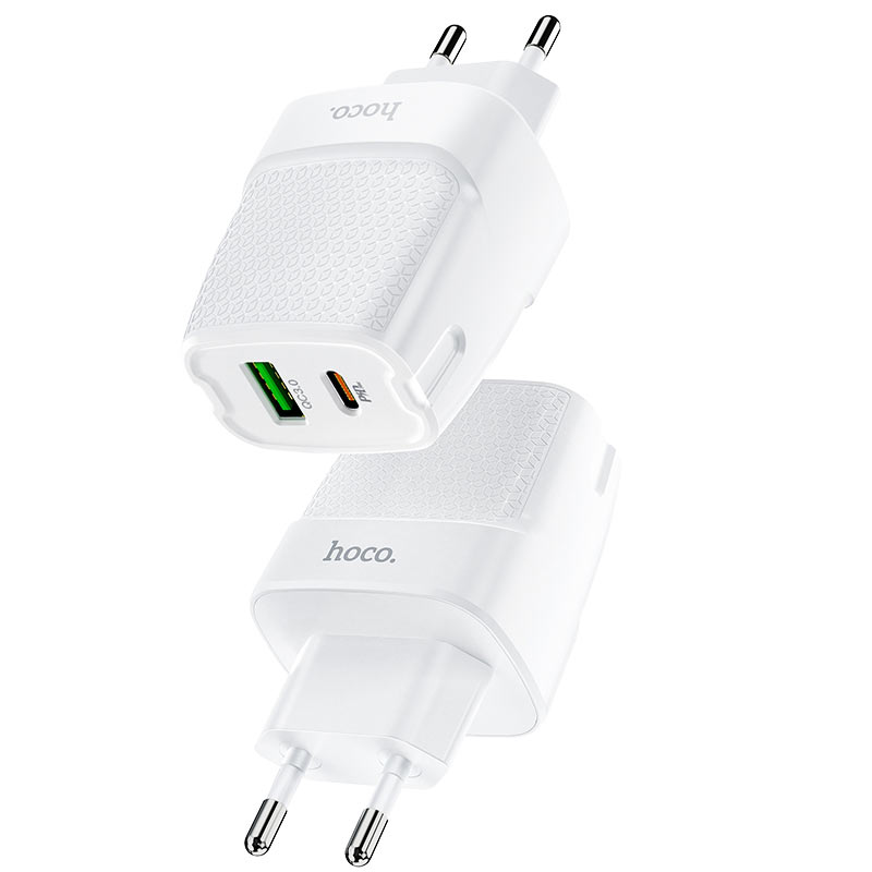 hoco c85a bright зарядное устройство pd20w qc3 eu