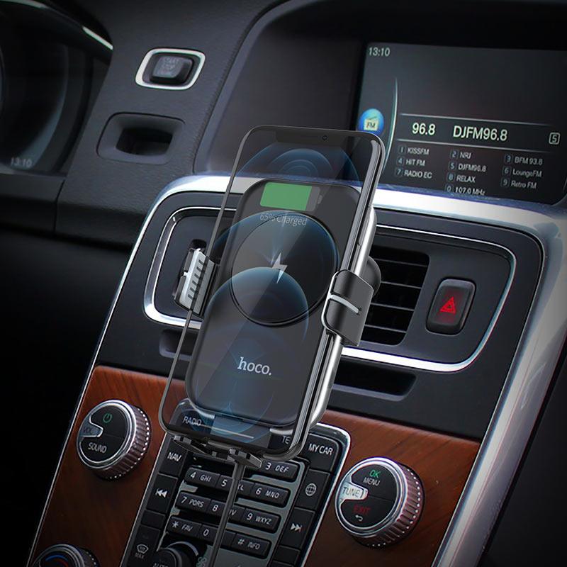 浩酷 ca80 速客智能无线充车载支架 概观