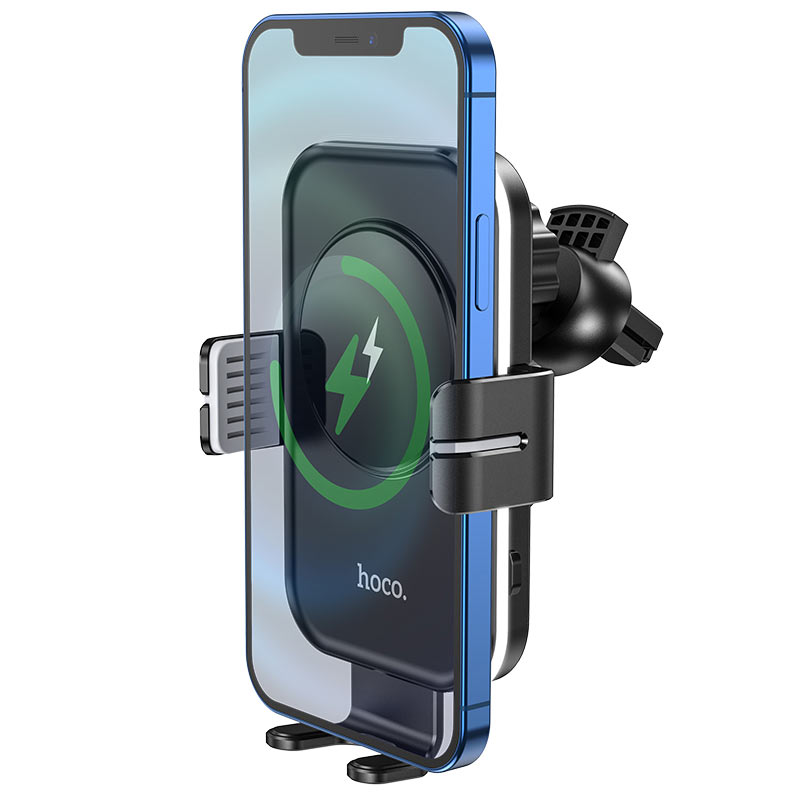 hoco ca80 buddy smart wireless charging car holder phone