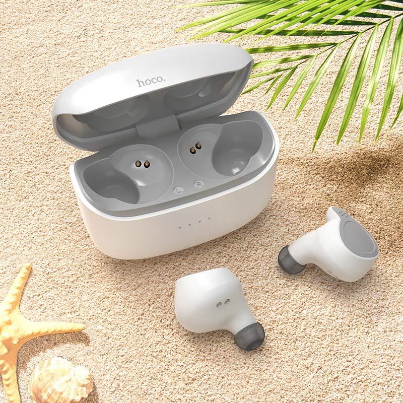 hoco es47 shelly tws wireless bt headset interior white