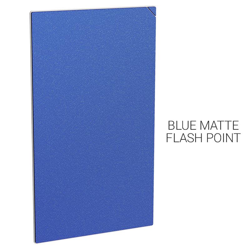 gb001 20pcs 蓝色磨砂闪点