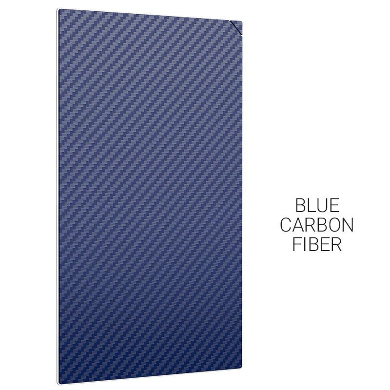 gb002 20pcs blue carbon fiber